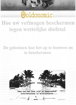 boek goldonomic
